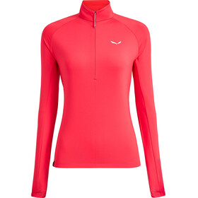 Salewa Puez PL Half-Zip L/S Tee Women rose red